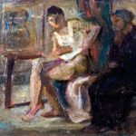 431101_Anna-e-nonna-Lucrezia-olio-su-faesite-147x9-cm