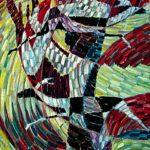 Donna-e-Cervi-olio-su-tela-62x115cm