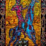 San-Giorgio-di-Militene-con-sole-rosso-nitro-su-tela-285x205cm